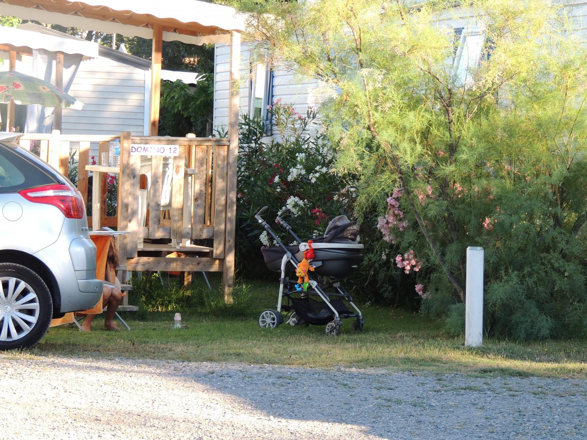 offre famille en location au camping la p pini re en juillet et ao t au cap d agde en 2015. Black Bedroom Furniture Sets. Home Design Ideas