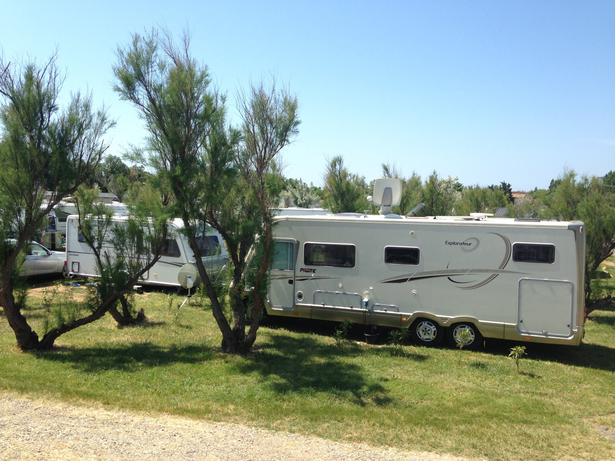 Emplacement camping à Agde